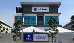 H.B. Fuller Malaysia outside building.