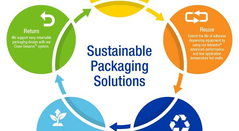 Sustainable Packaging Solutions Thumbnail for Infographic